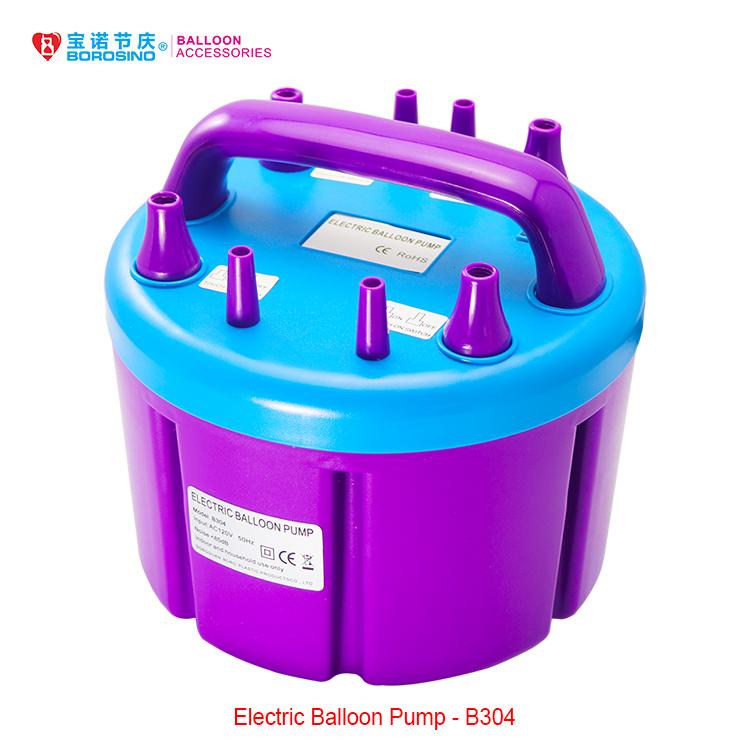B304 Blue Amp Purple Four Nozzles Balloon Pump Machine Buy
