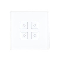 Zwave Wireless Smart Remote Control Touch Screen Light Switch