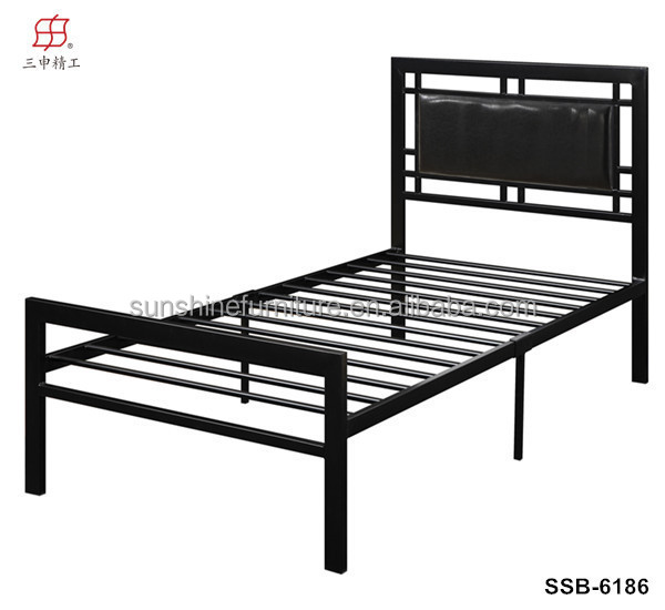 China De Fábrica De Muebles De Dormitorio Último Metal Super Cama ...
