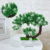 Artificial plant mini bonsai artificial plants and flowers