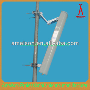 18dbi 3300-3800 MHz Directional Base Station Repeater Sector Panel Antenna external antenna for cell phones 3.5ghz wimax antenna
