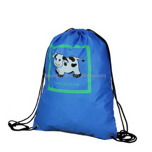 2017 Customised Size OEM Logo Cotton Drawstring Bag