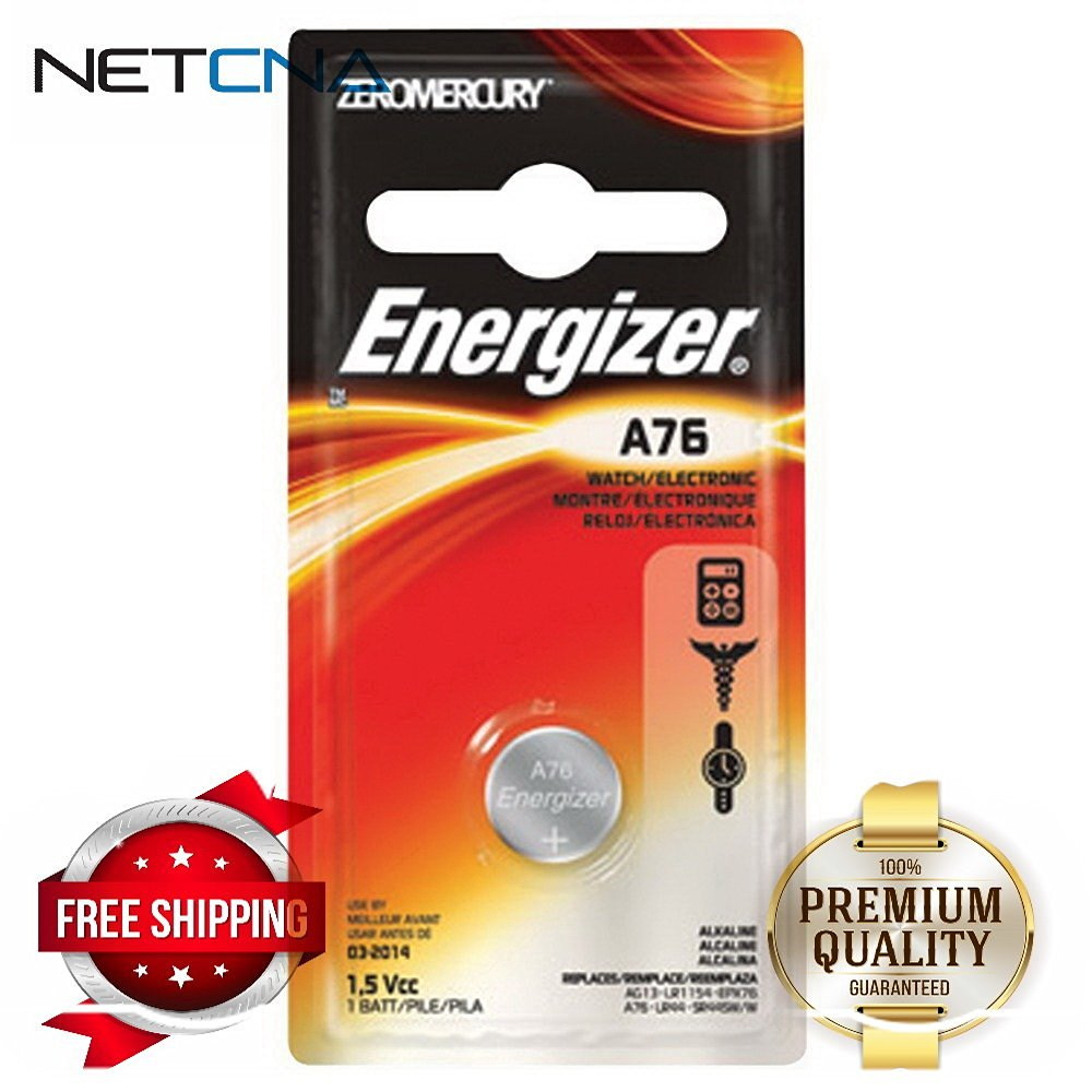Energizer Lr44 1.5v Button Cell Battery 10 Pack A76//lr44 40x Energizer Watch//electronic A76bp Replaces: Lr44, Cr44, Sr44, 357, Sr44w, Ag13, G13, A76, A-76, Px76, 675, 1166a, Lr44h, V13ga, Gp76a, L1154, Rw82b, Epx76, Sr44sw, 303, Sr44, 40 Pack Bundle!