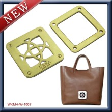 High quality custom logo plate for handbags
