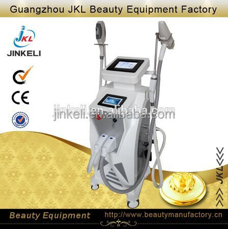 Guangzhou JKL elight ipl rf nd yag laser multifunction beauty equipment