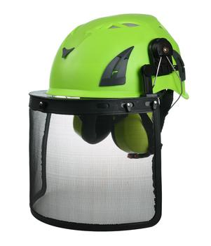 Aurora M02 Firefighter Helmet with movable clear visor/ firefighting helmet with reflective sticker