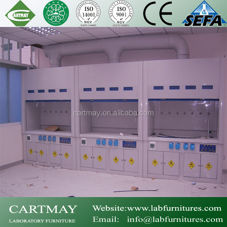 2015 new university steel laboratory/lab fume hoods with acid storage cabinet
