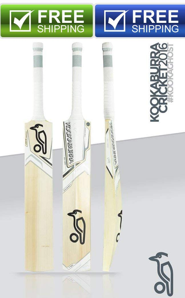 Kookaburra Ghost Kashmir Willow Cricket Bat Full Size Short Handle