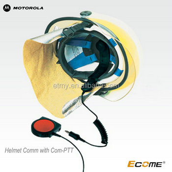 MOTOROLA Helmet Comm with Com-PTT microphone for GP328/GP338/PTX760/PTX700/MTX960 /MTX900 two way radio /walkie talkie