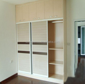 Custom Wpc Decorative Sliding Closet Door Panelsdoor Frame
