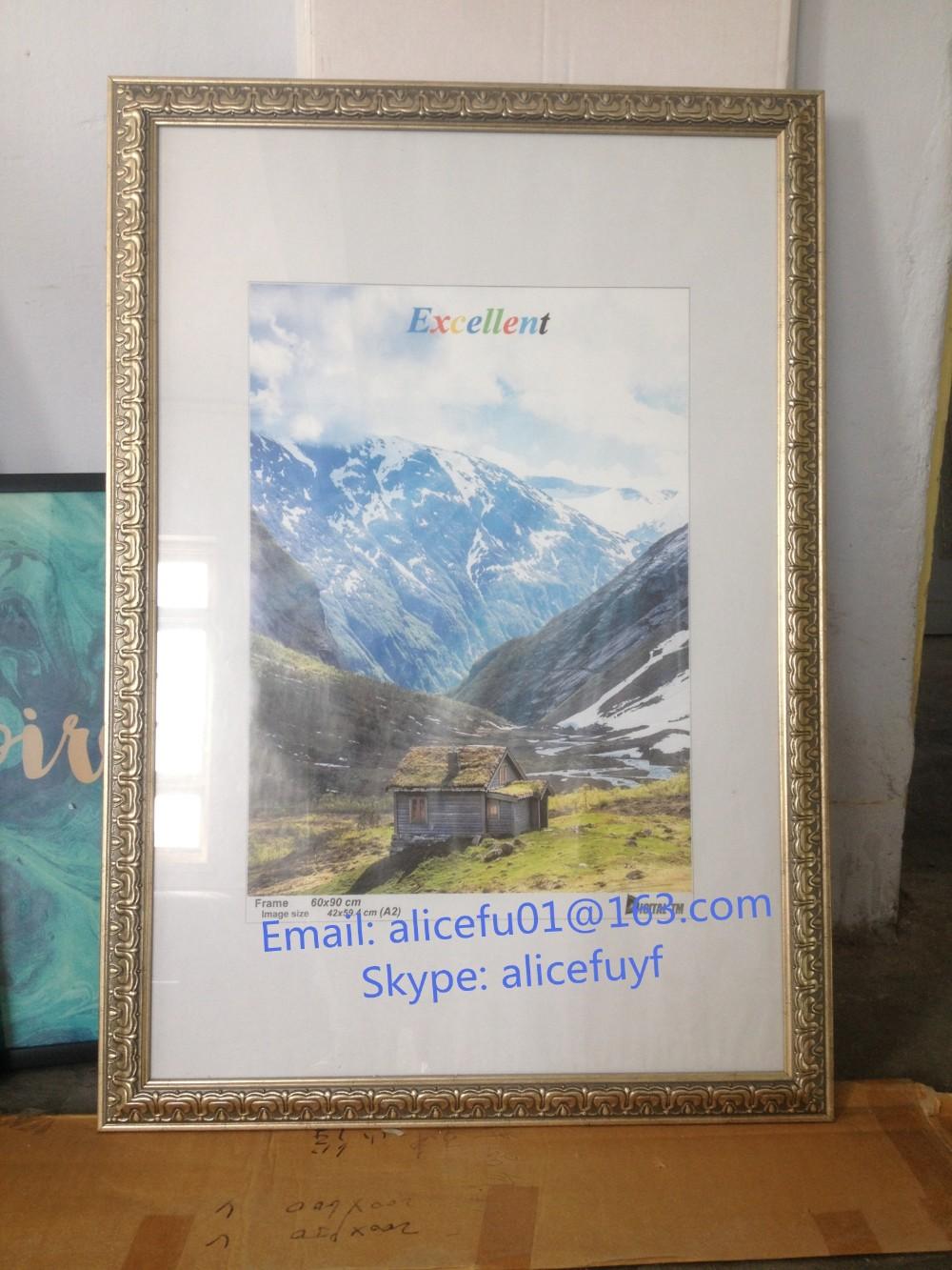 Bulk Wholesale Large Size Plastic Poster Frame A1 A2 A3 A4 - Buy Photo ...