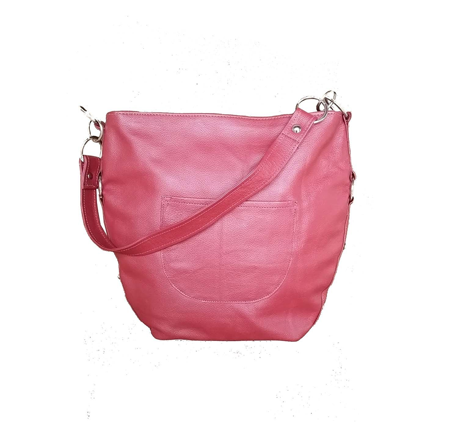 8c9a8aedbff2 Get Quotations · Fgalaze Hobo Leather Bag