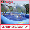Crawling water ball pool inflatable games