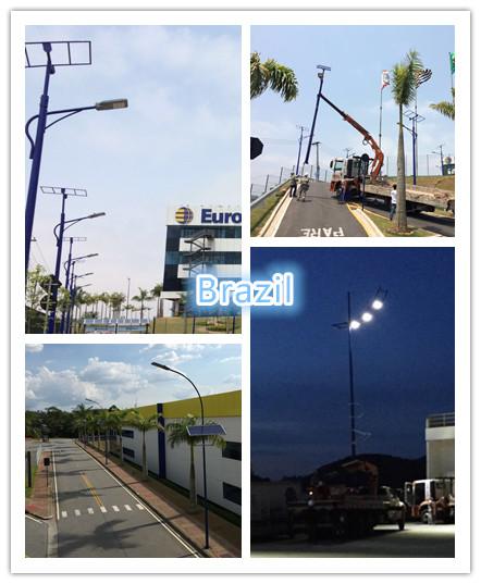 Outdoor Integrated solar street light 60w