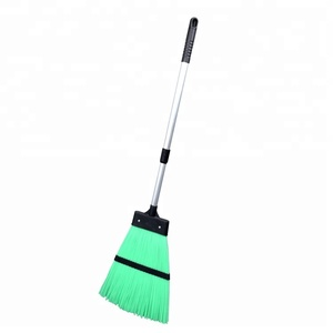 Plastic cleaning garden broom