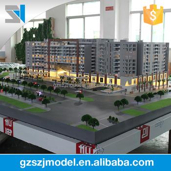 Professionelle Modell Miniatur Haus Machen, Architektur Haus Plan Für Stadt