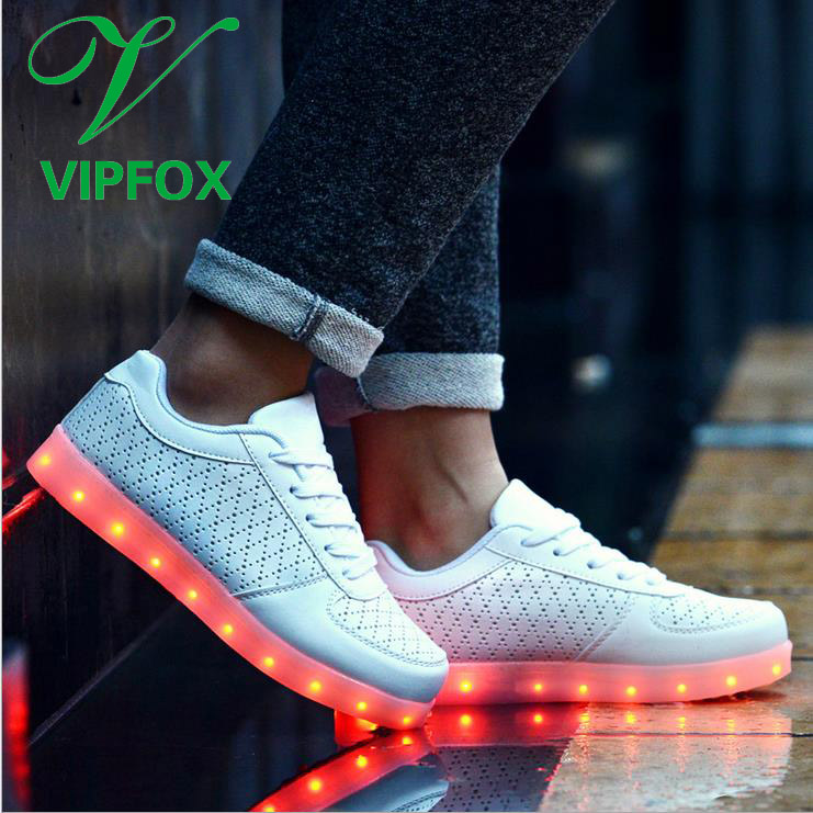 Formal Sports Shoes For <strong>Men</strong> 2017 Active Comfortable LED Light Up Shoes