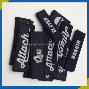 Reasonable Price Custom 3D Embroidery Garment Self Adhesive Fabric Sticker Label Logo Patch