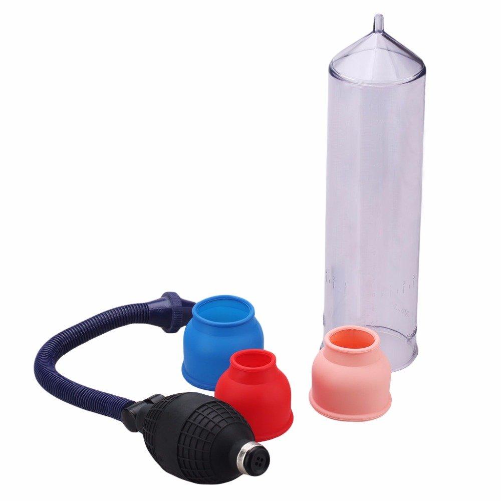 Heavy duty manual penis pump