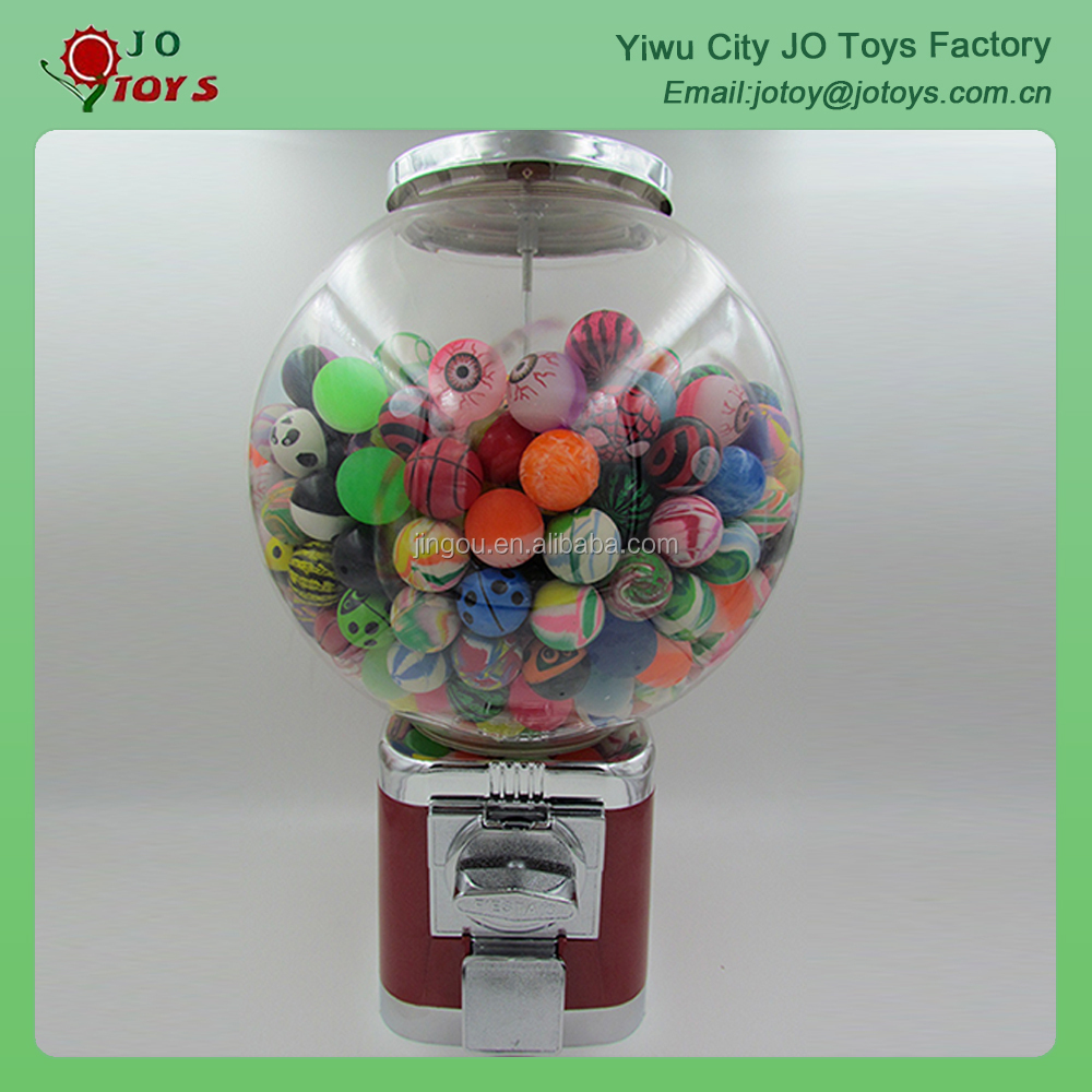 Promotion capsule toys bouncing ball vending machine