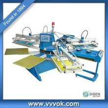 Flatbed automatic screen printer for plywood