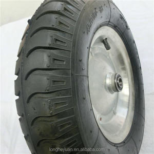 400mm diameter jantes wheel 16 inch air 4.00-8 rubber pneumatic tire