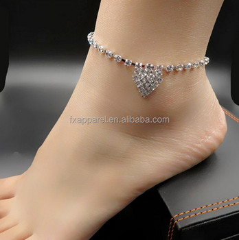 diamond designs vogue ltd anklet product india cpid crafts pvt heart and
