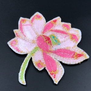 Jeans Sewing Flowers Applique Diy Accessory Uniform or work shirt embroidered patches