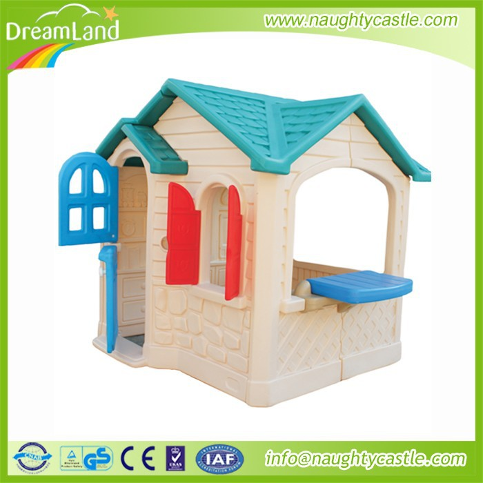 Colorful Plastic kids garden outdoor house