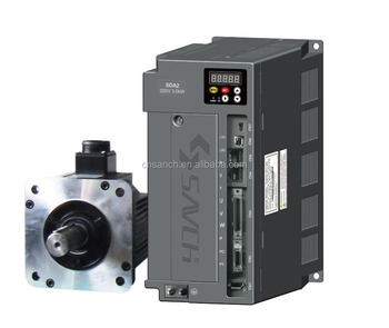 Sanch high position new 1kw single/three phase 380v ac servo system motor controller