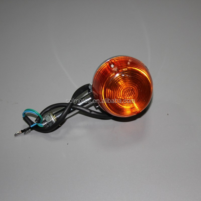 Cheap motorcycle spare parts, Indicator light for CM125 motorcycle parts SCL-2012050073