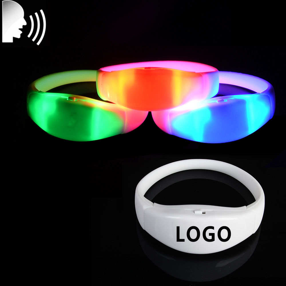 Cheap Price Sound Activated Led Wristband Light Up Led Bracelet