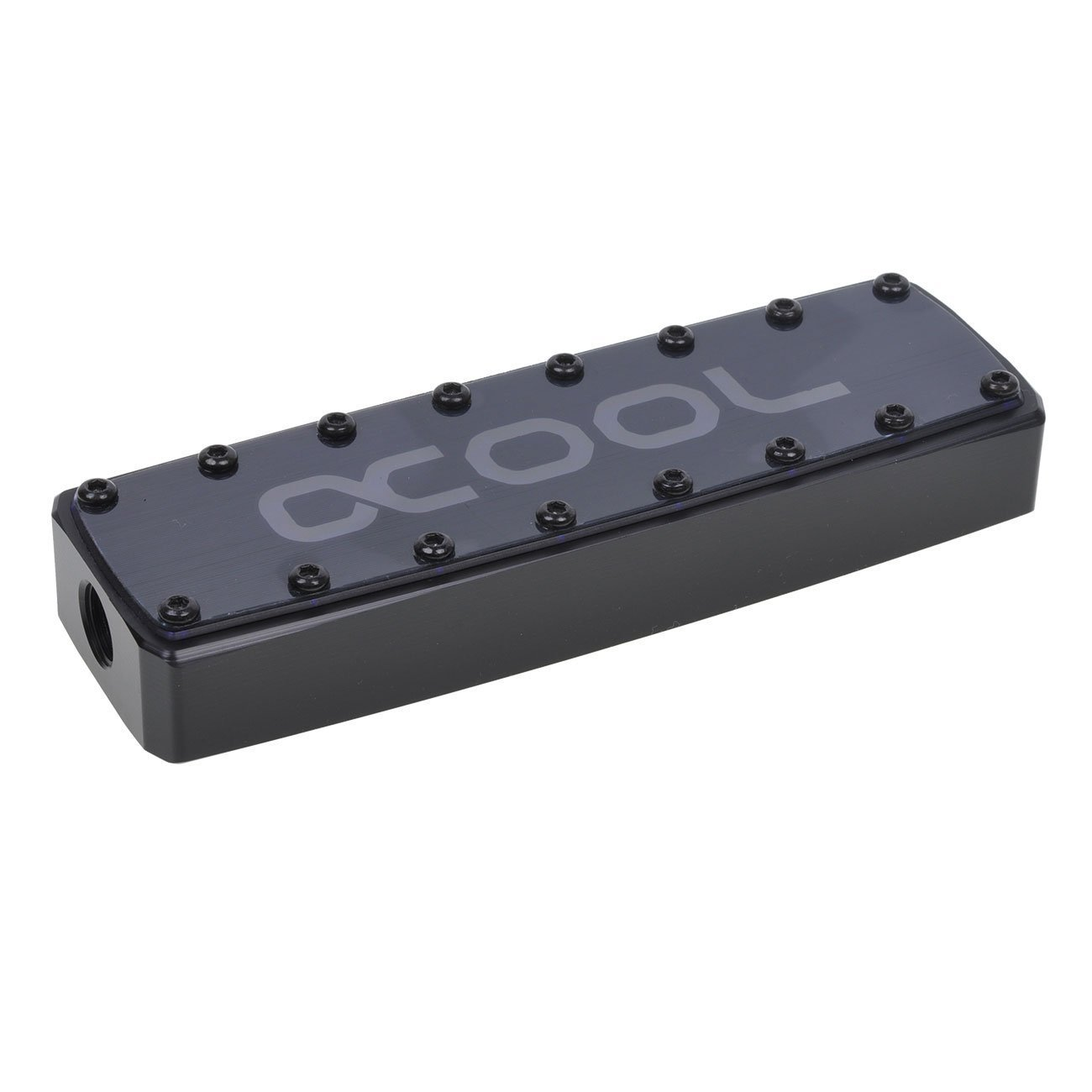 Alphacool GPX SLI Connector, Quad, Acetal, Black