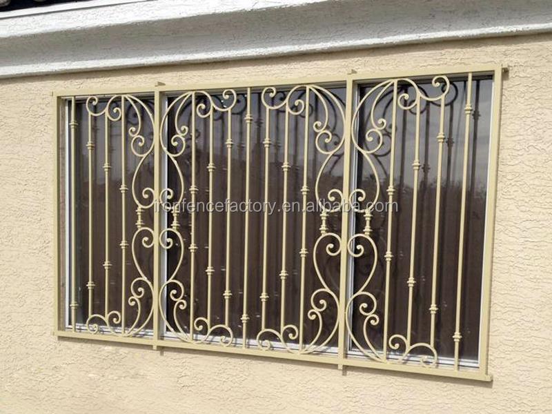 New Design Window Grills/iron Window Grill Design