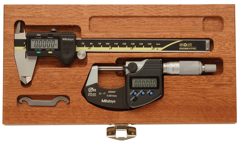 "Japan New Mitutoyo Digimatic Scale 6/""//150mm range .0005/""//.01mm grad 572-211-20"