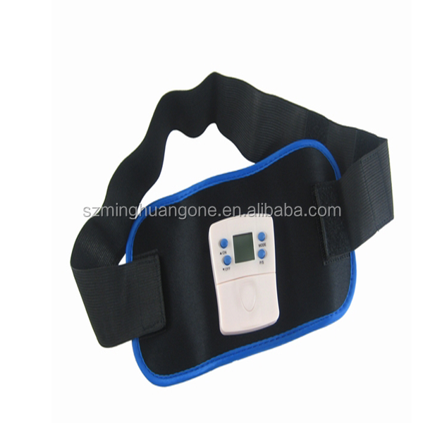 electric abdominal fat burning slimming massage belt