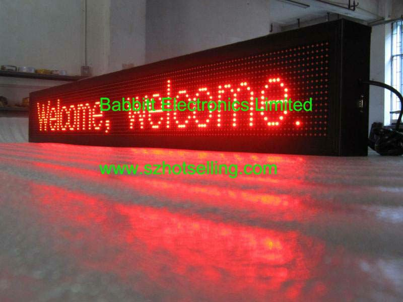 100% Response Rate/score board led display / P10 full-color LED screen