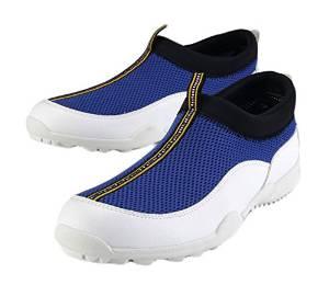 Shangtom416 Golf Shoes Men Golf Shoe Breathable No-Slip Wear Resistance Blue US7 EU40 UK6.5