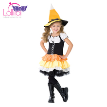 Wholesale cheap cute halloween costumes for girls witch cosplay with headband and wings