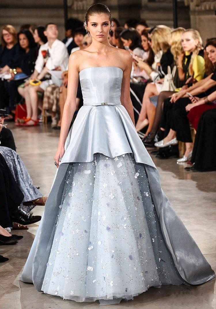 2016 Blau Bodenlangen Italienischen Kleid Alibaba Hochzeitskleid ...