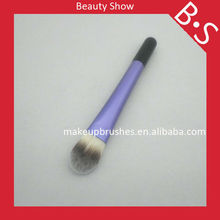 Hot seller round high qualiy foudation cosmetic brush,sedona hot seller travel makeup applicators