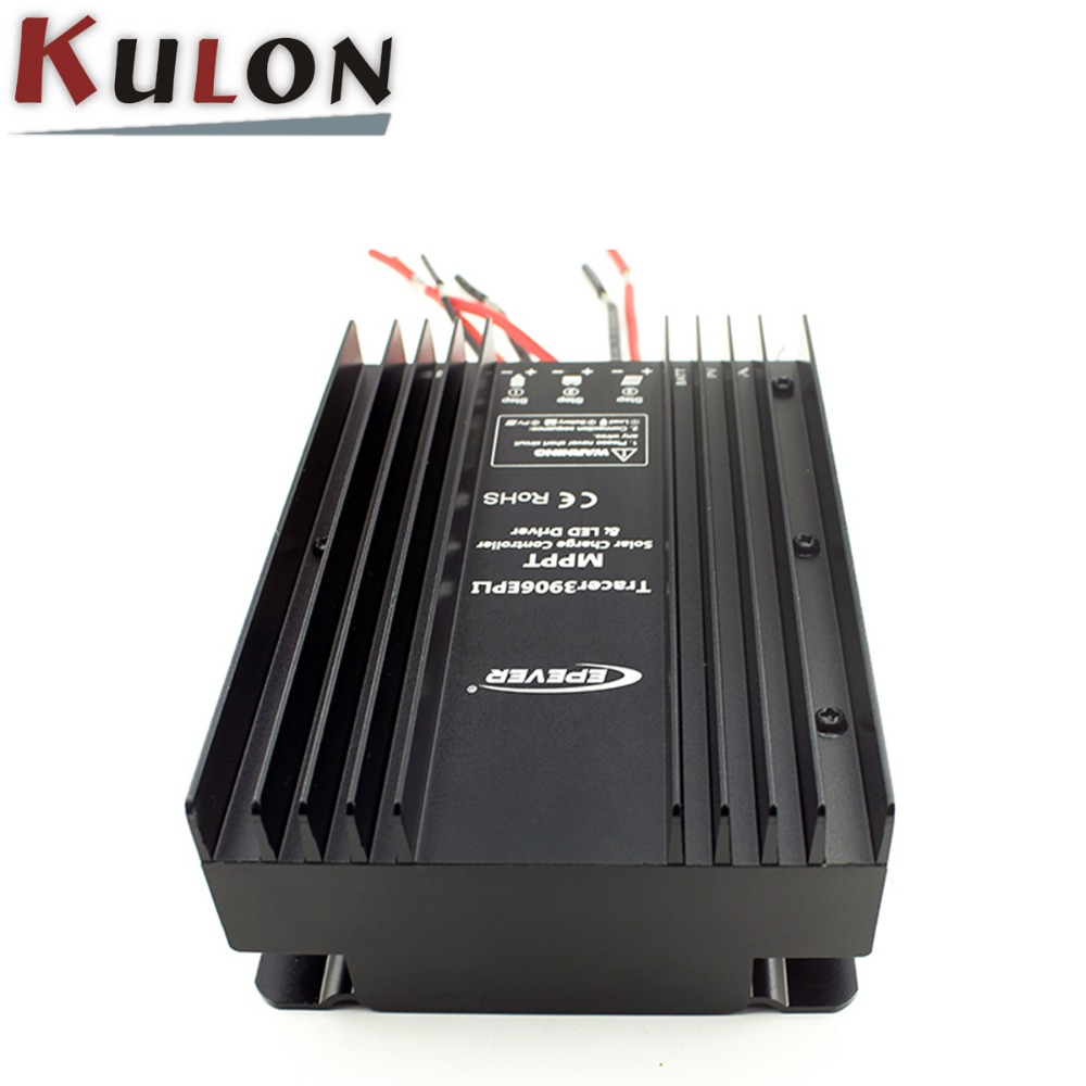 Solar LED Lighting mppt 12v 24v solar charge controller