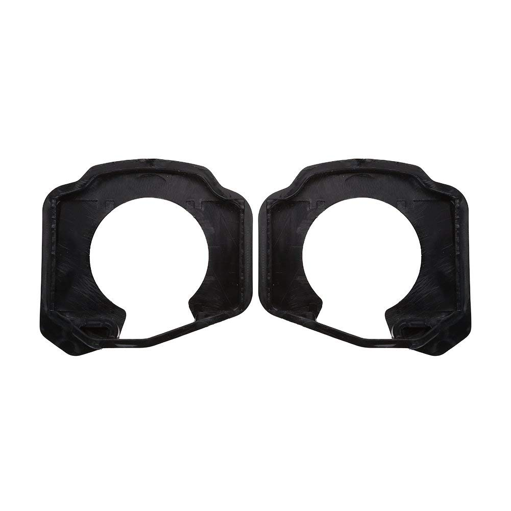 eecoo Bike Shoe Cleat Covers, Lightweight Plastic Cycling Bicycle Shoes Cleat, Anti Slip Quick Release Rubber Bike Pedal Cleat Covers Protector, 1 Pair