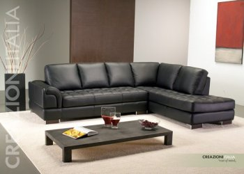 Corner Leather Sofa