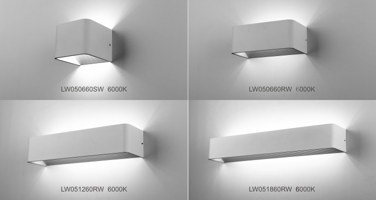 6w Indoor Led Wall Light Up And Down (hotel Use) - Buy High Power ...