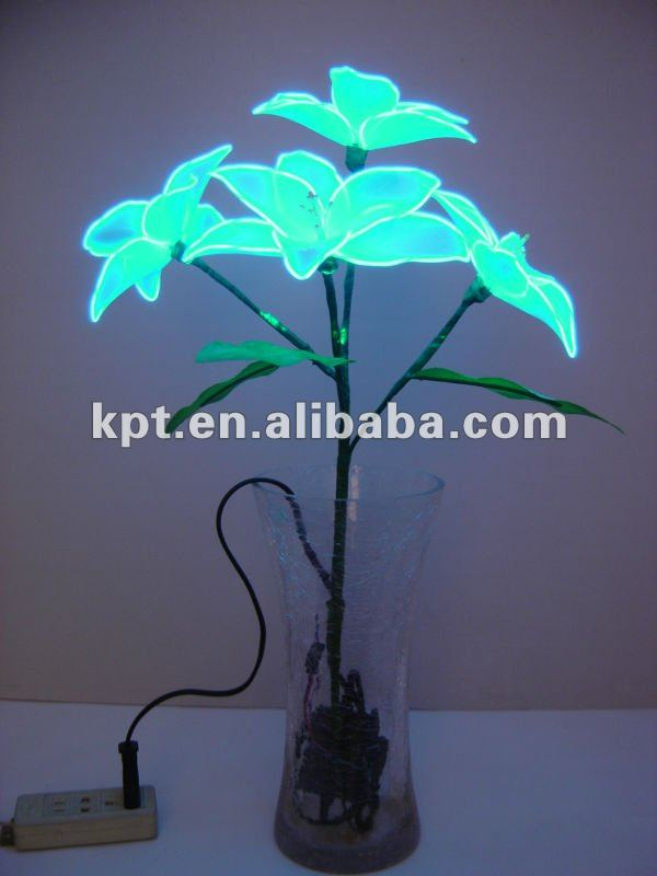El Wire Lighting Artificial Flower - Buy Light Up Artificial Flowers ...