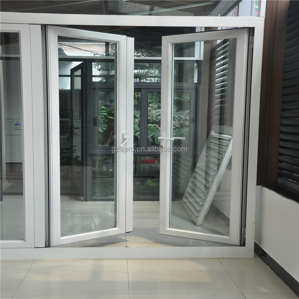 Home design front door designs double tempered glass door for Exterior glass door designs for home