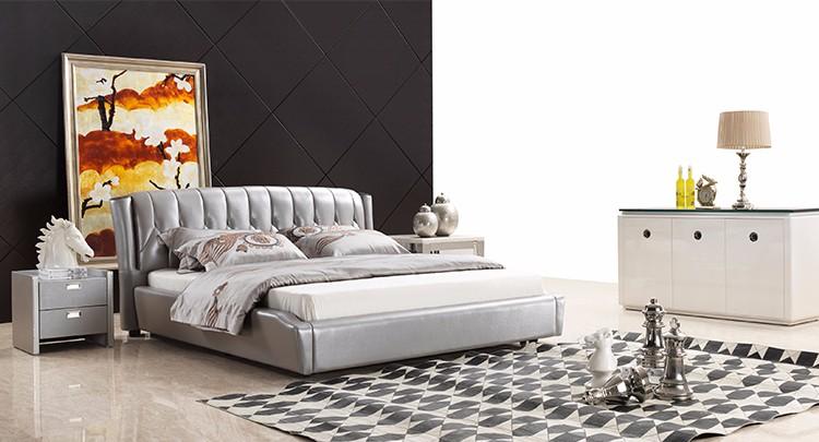 Slaapkamer Massief Hout : Luxe slaapkamer sets meubels massief hout kingsize bed buy massief