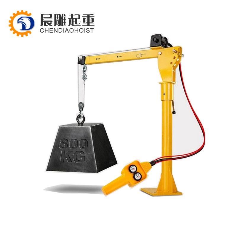 HP1000 12V DC electric mini crane (motor crane) - LH
