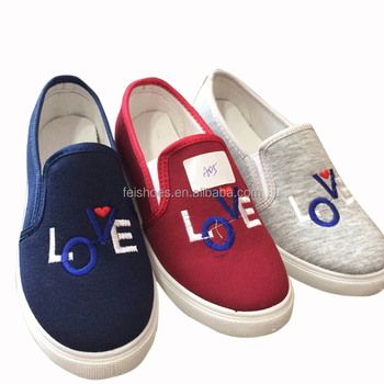 a500eb361 Rubber Shoes New Style Brand Name Designer Ladies Canvas Shoes - Buy ...